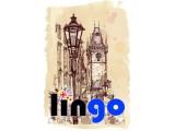 Логотип LinGO, центр иностранных языков